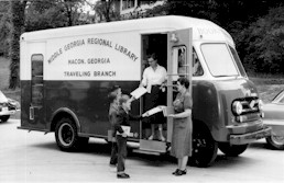 Middle Georgia Regional Library Bookmobile