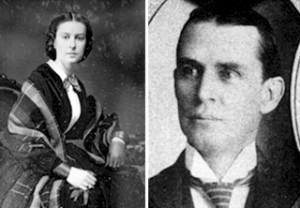 Ellen Washington Bellamy and her brother, Hugh Vernon Washington