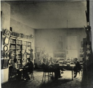 Reading Room Ca. 1877