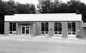 Newly completed Shurling Branch Library, ca. 1972